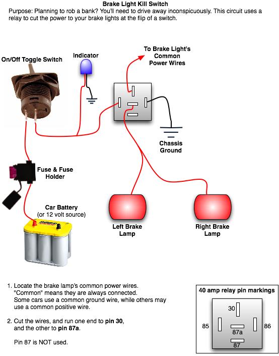 installing a rear brake light kill switch  top forum picks