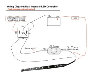 How To Wire Tail Light On Motorcycle | Led Brake Lights