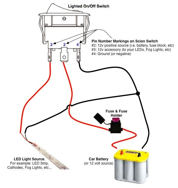 lighted rocker switch wiring diagram wiring diagram 5 pin lighted rocker switch wiring diagram and