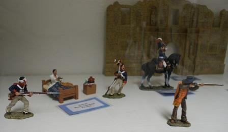 More Alamo Figurines
