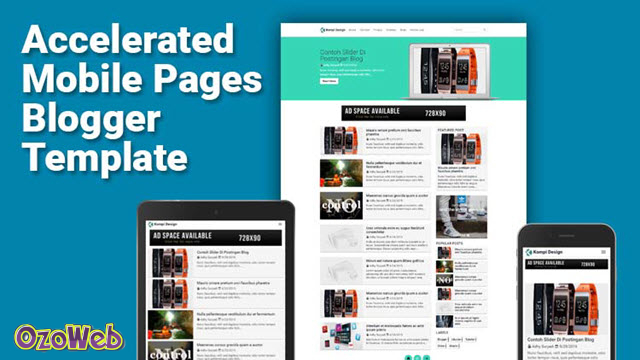 AMP-blogger-template