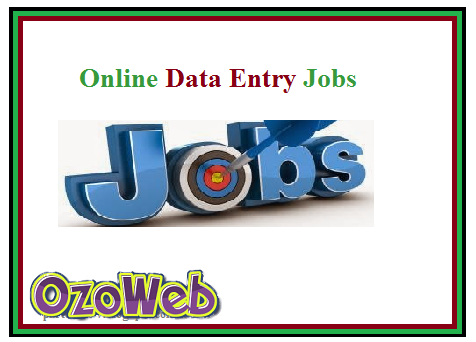 Data Entry Job Online Part Time Jobs
