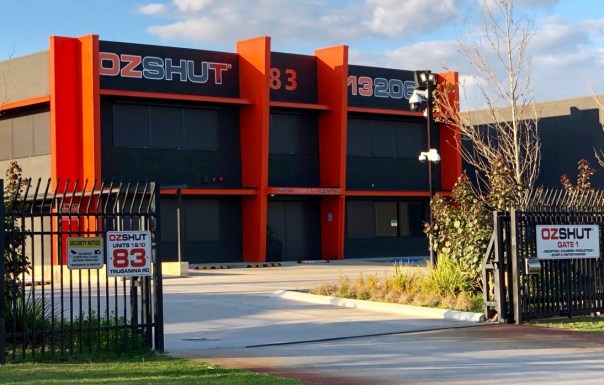 The OzShut Roller Shutters Perth building.