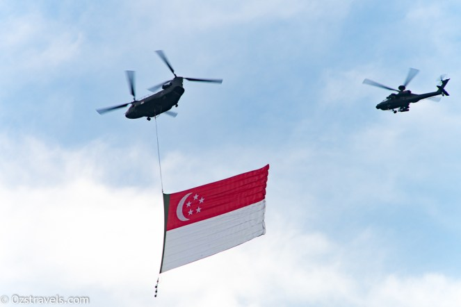 SG50 National Day Practice - Flypasts