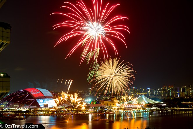 Singapore National Day 2016 Practice