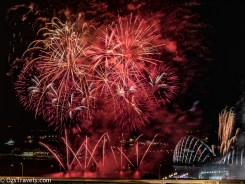 2017 Singapore Grand Prix, Fireworks, My Balcony,