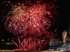 2017 Singapore Grand Prix, Fireworks, My Balcony,