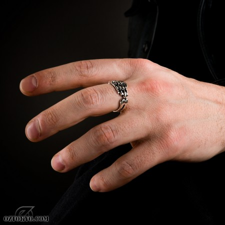 The Hand Rings By Oz Abstract Tokyo Online Boutique Oz