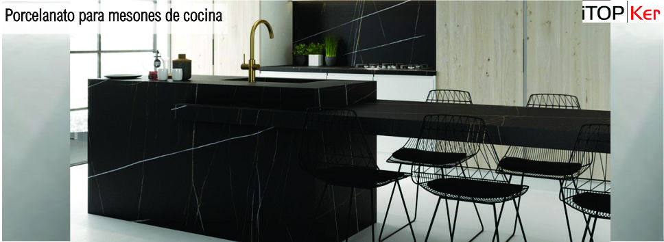 Productos arquitect nicos porcelanato para mesones de for Materiales para mesones de cocina
