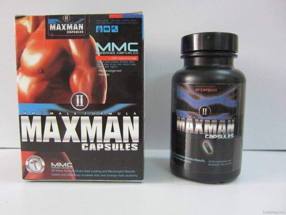 「MAXMANⅡ」陰莖增大丸,美國進口60粒效果好,無副作用無依賴1
