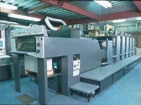 UV印刷設備