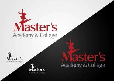 Logo Design Master Academy and College Calgary Alberta