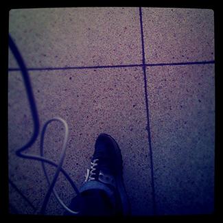 Disparo al piso