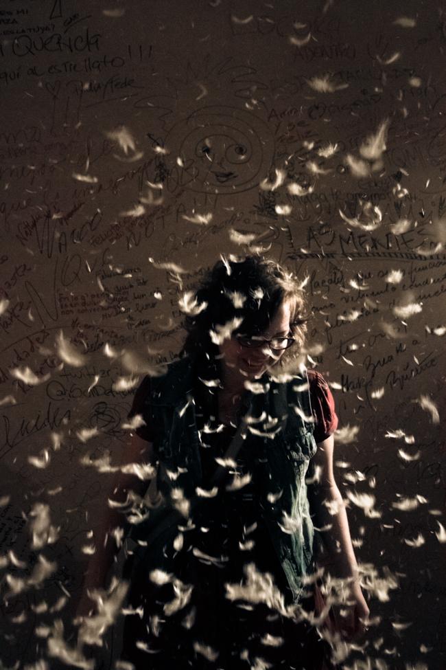 Daniela y las plumas