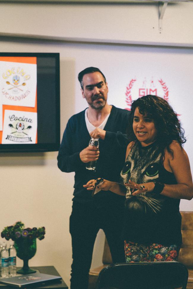 Luis Cobelo y Livia Animas