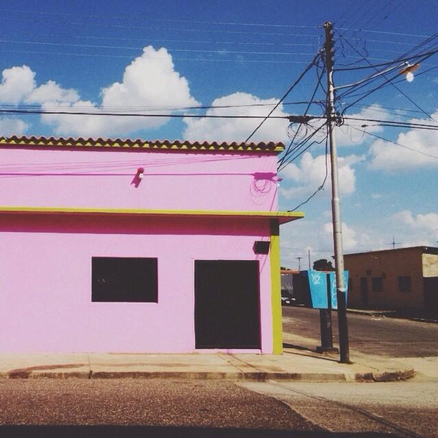 Esquina rosa