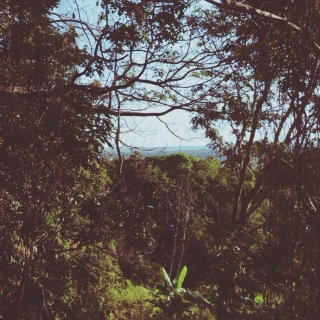Yo crecí con esta vista desde mi ventana, al fondo, el horizonte