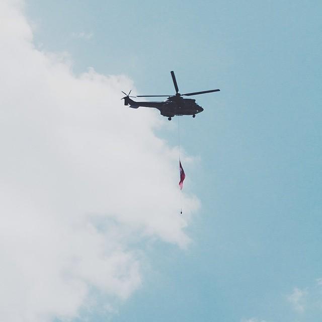 Helicópteros por mi casa
