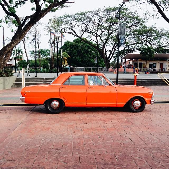 Auto Naranja