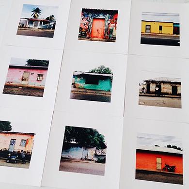 Las primeras pruebas de impresión del libro de Casitas de Guanare