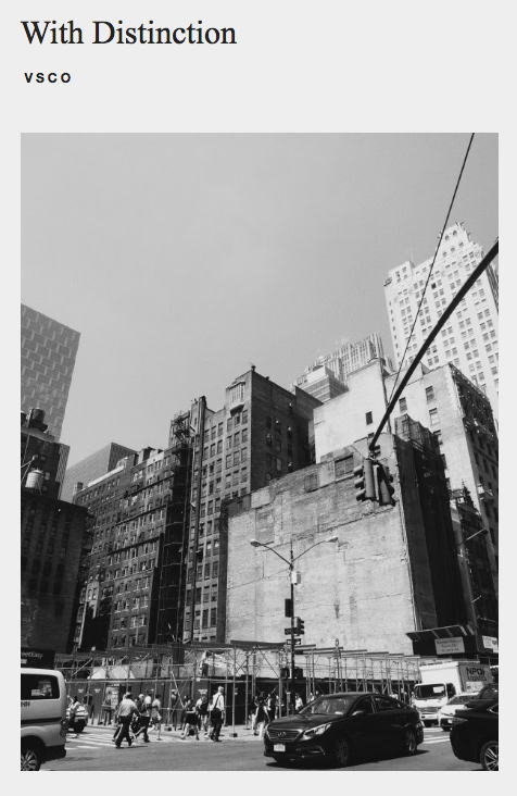 VSCO 5th Avenue