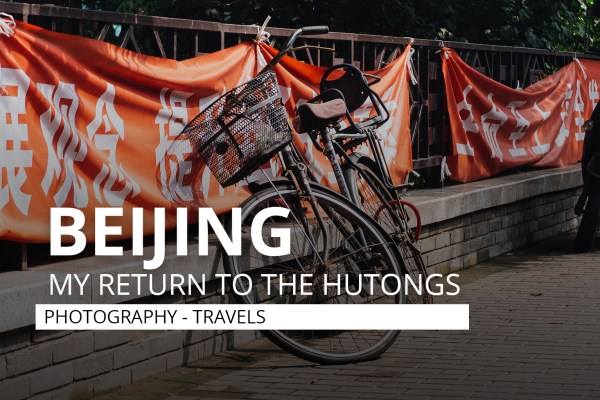 Hutongs Beijing 2018