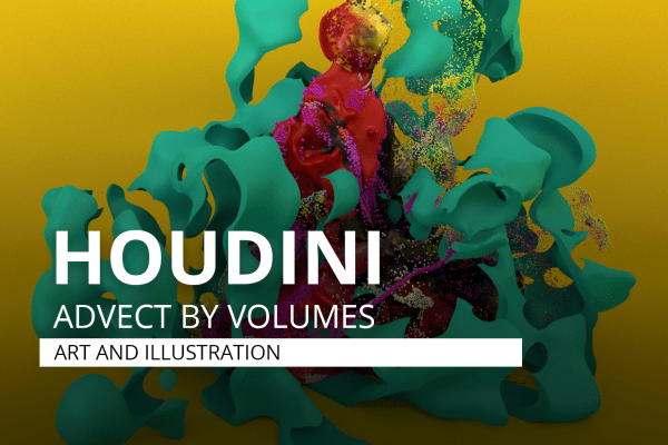 Houdini Advect by Volumes