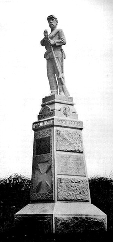 118th Regiment Pennsylvania Volunteers Monument At