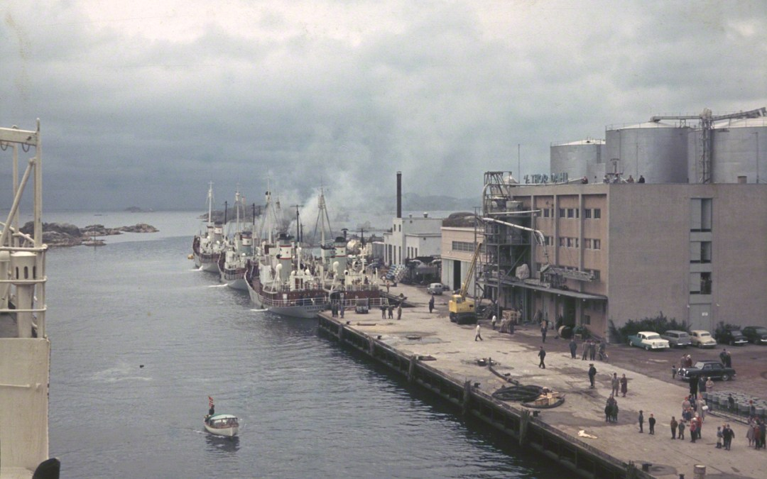 Departure from Sandefjord 1959