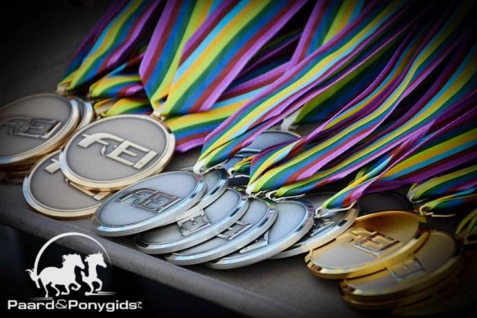 Nederlandse Children winnen teamzilver op EK dressuur