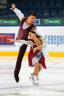 2 Charlene GUIGNARD , Marco FABBRI ITA