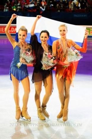 Dreifach für Rußland
