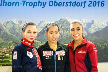 Pressefoto - Siegerinnen Damen