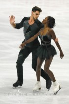 2SP Vanessa JAMES , Morgan CIPRES FRA
