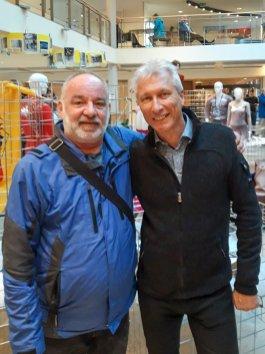 und mit Norbert Schramm
