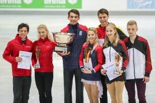 Fritz Geieiger Pokal 1. USA, 2. CAN, 3. GER