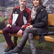 Thomas Stoll mit Viola Striegler