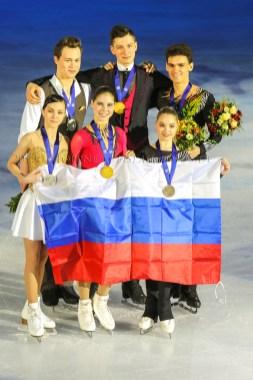 Sieger Paare 3xRUS