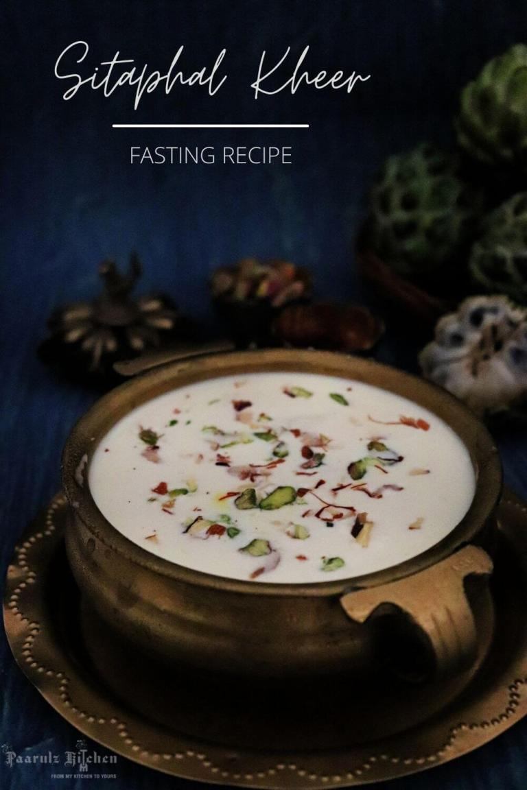 Read more about the article Sitaphal Kheer | Custard Apple Pudding