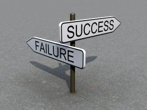 Señal de exito y fracaso