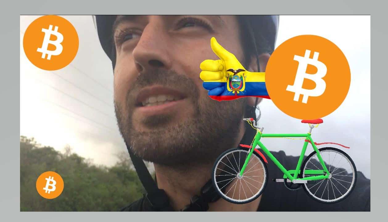 Pablo Fernández Burgueño en bicicleta