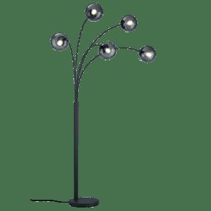 Lampadaire Moderne globe 28W 5x E14 · max BALINI