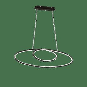 Suspension Moderne Métal SMD LED, 35W · 3700lm, 3000K