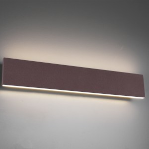 Applique murale métal SMD LED, 9W · 2x 900lm, 3000K, 47×8