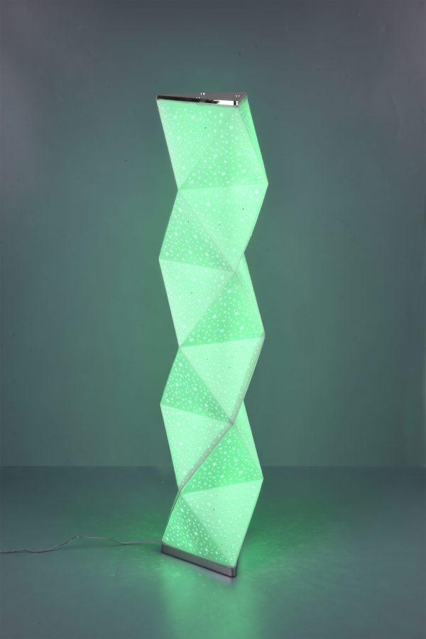 Lampadaire RGBW SMD LED, 9,5W · 1x 900lm, 3000K