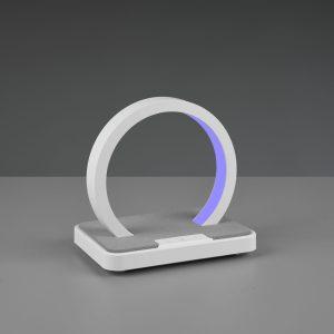 Lampe de table RGBW & enceinte Bluetooth SMD LED, 1W · 1x 20lm, 3000K Blanche