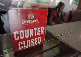 Kingfisher losses