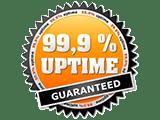 99 percent uptime