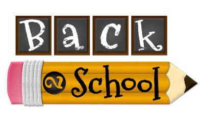 August means Back 2 School |