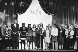 All past and present WWIN leaders were asked to take the stage.